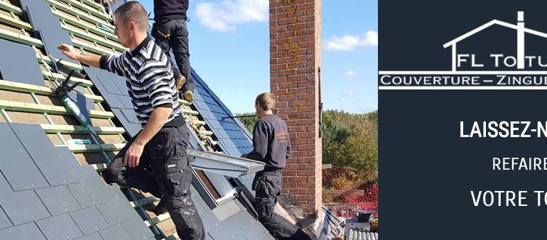 FL Toiture – site vitrine pour une société de toiture
